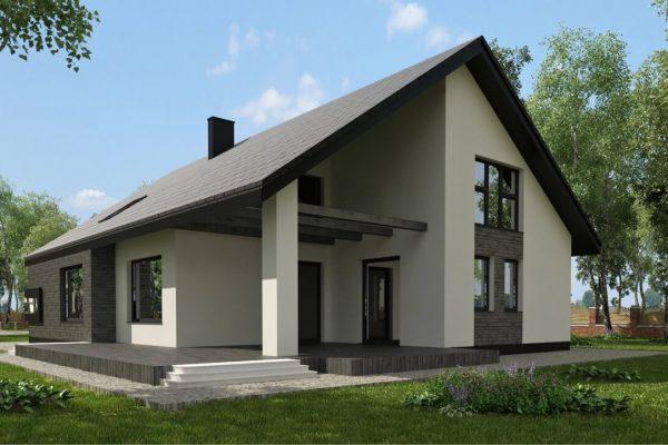 Dom jednorodzinny w Borówcu